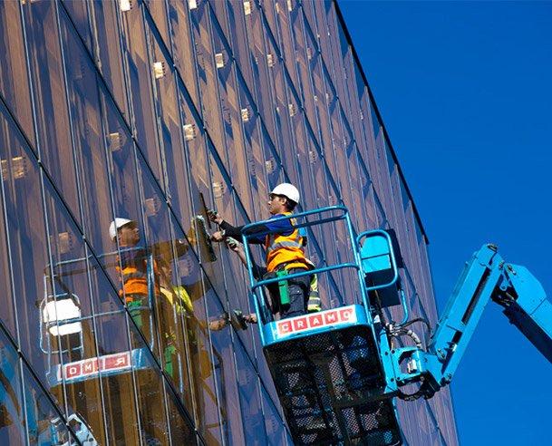 Fönsterputs för företag